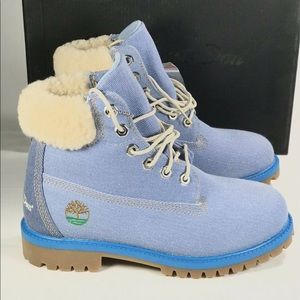 Timberland X Just Don Youth Denim Boot New
